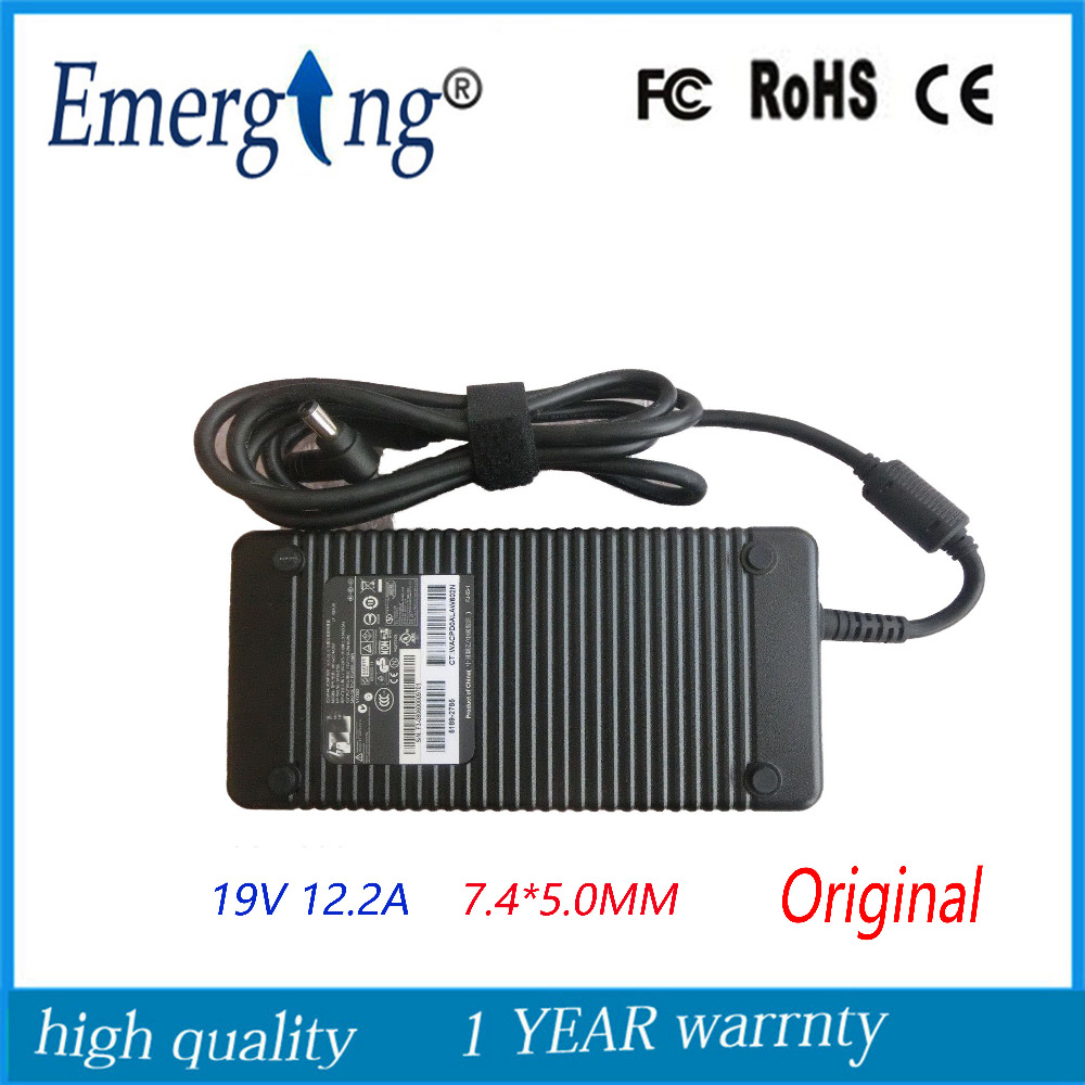 19V 12.2A 7.4*5.0mm 230W Charger  Supply Original  Laptop Adapter  ALL-in-one For Hp  A2301A3B1 genuine 19 5v 11 8a 230w laptop power supply for asus all in one et2400xvt w90vn w90vp sadp 230ab d sadp 230ab de ac dc adapter