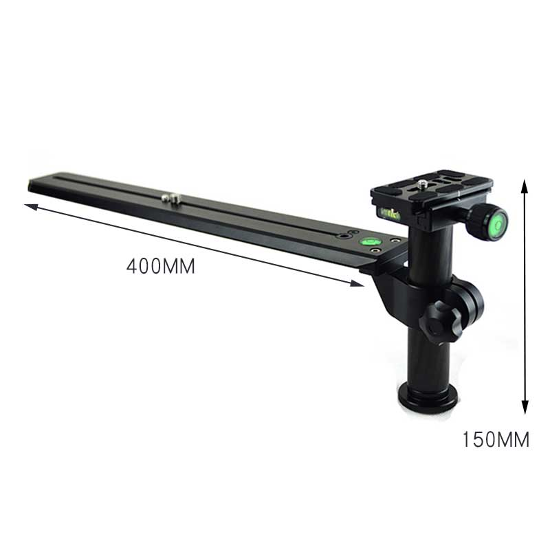 Telephoto Lens Support Bracket Holder with 400mm Long Rail Quick Release Plate 1/4 & 3/8 Inch Mounting Screws for Manfrotto Lens цена