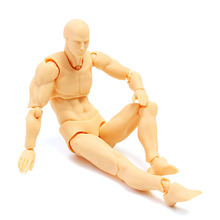 Painting Props Anime Clear Crystal Archetype Figure Doll Male Youth Version Skin Color DIY Model Toys