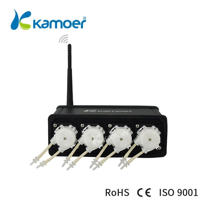 Kamoer F4 Peristaltic Pump (Aquarium Dosing Pump, Wifi Control, Small Water Pump, Easy Use, Continuous Use) kamoer digital peristaltic pump dispenser