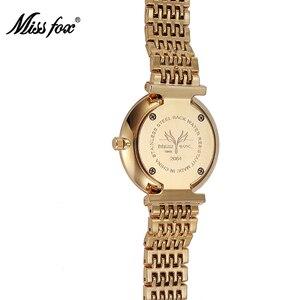 Image 4 - MISSFOX reloj a prueba de choques resistente al agua marca de moda importada China Erkek Saat diamante Carnaval Acero inoxidable Bu Bayan Kol Saati
