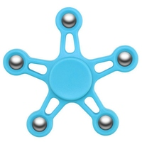 Funny Hand Spinner Fidget HandSpinner 5 Angel Plastic Rubber Soundless for Autism and ADHD Relief Focus Anxiety Stress Gift Toys