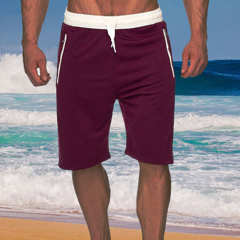 Men's Beachwear Summer Holiday Swim Trunks Quick Dry Beach   Board     Shorts   Bathing Suit Surf Boardshorts Cotton Casual Sportwear
