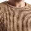 Men Slim Fit Knitted Pullovers Casual  Sweater 1