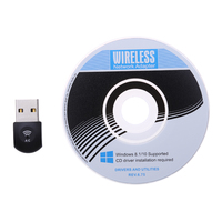 Mini 2 4Ghz 5Ghz Dual Band AC600 Wireless WiFi Dongle USB Adapter 802 11 Ac A