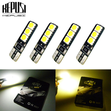 4X 194 W5W T10 LED Car Light Canbus Auto Bulbs Styling For Kia Forte Sportage Cerato Carens Sorento soul Rio 1 2 K2 Ceed