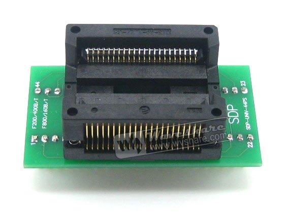 все цены на SOP44 TO DIP44 SOP44 SO44 SOIC44 Enplas IC Programming Adapter Test Burn-in Socket 1.27mm Pitch онлайн