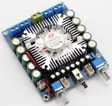 2016 Nouveau DC12V TDA7850 4.0 canaux mini HIFI autoradio conseil amplificateur 50 W * 4