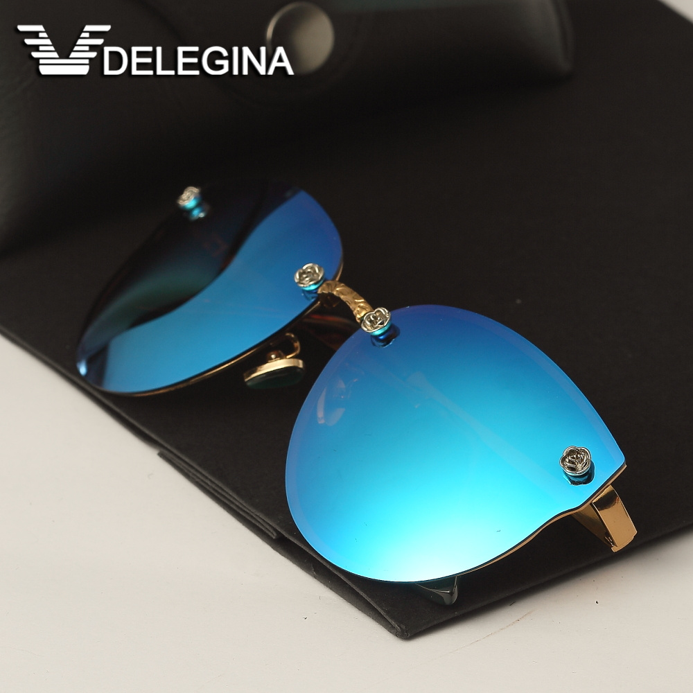 67baff10876e DELEGINA Ladies Luxury Polarized Sunglasses Women Sun Glasses Brand  Designer Shades-in Sunglasses from Apparel Accessories on Aliexpress.com