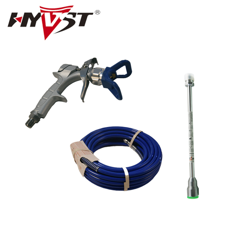 high pressure hose 10m extend pole 30cm sprayer gun Professional Sprayer parts Free DHL shipping