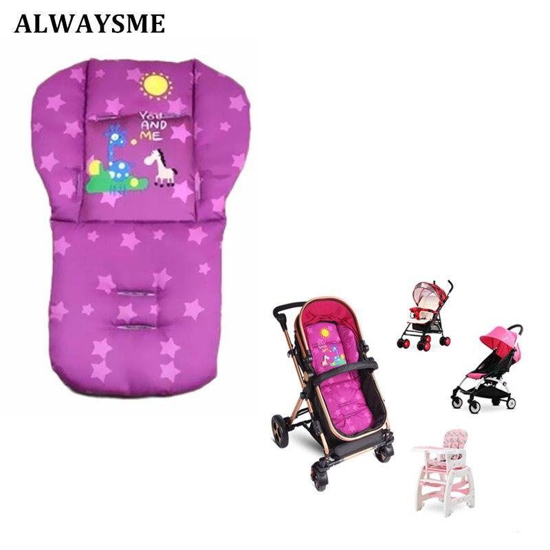 Alwaysme Baby Highchairs Sitzkissen Matten Kinderwagen Kissen Giraffe Kinder Warenkorb Sitzkissen Kinderwagen Baumwolle Autositz