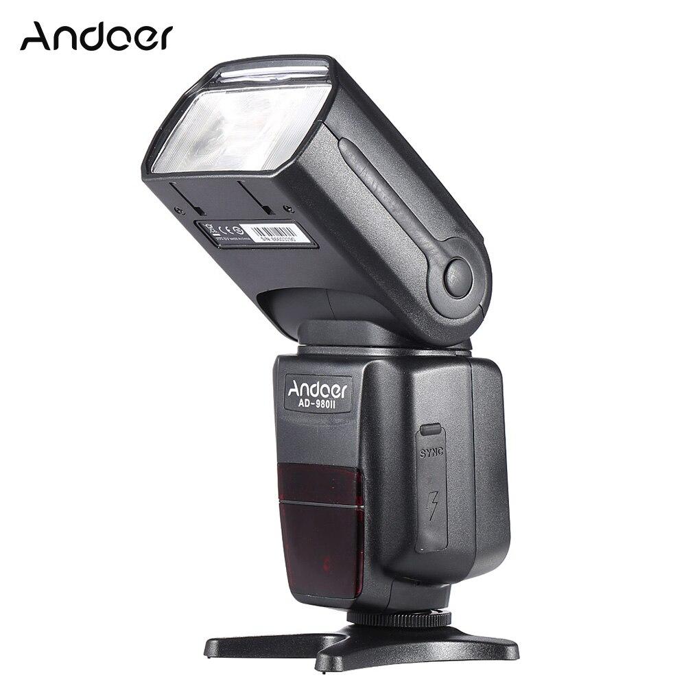 Andoer AD 980II Camera Flash i TTL Master Slave Speedlite GN58 1 8000s Flash Light for
