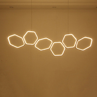 Minimalism Modern LED Pendant Lights for Dining Kitchen Room Living Room White or Coffee Color Hanging Suspension Pendant Lamp