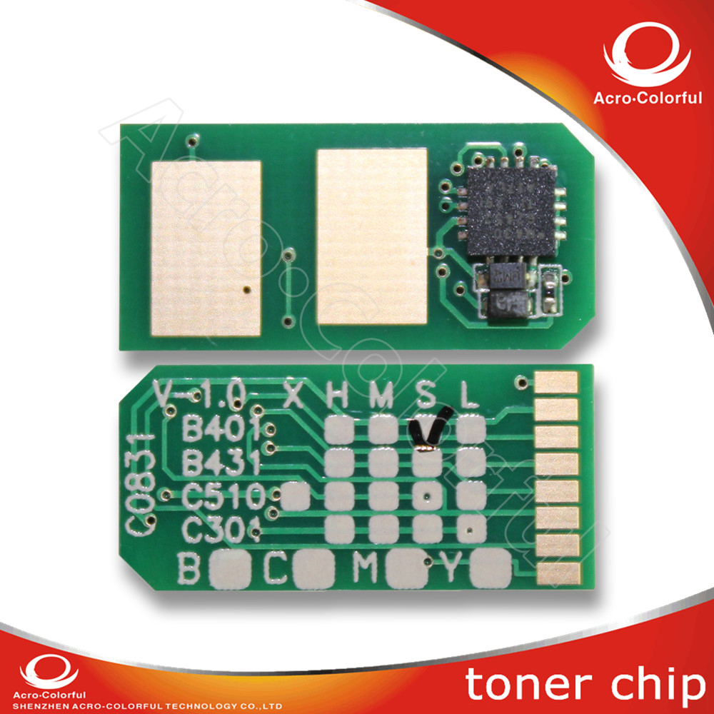 Manufacture Smart Reset Toner Cartridge Chip refilled compatible for OKI B401 MB441 MB451 laser Printer 44992402 44992404 toner cartridge chip for oki data b401d mb441 mb451 okidata b401 441 mb 451 b 401d laser powder refill reset