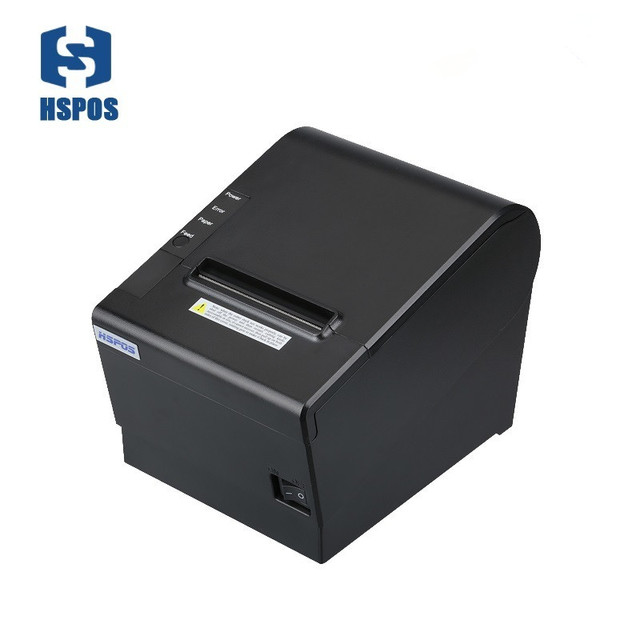 High printing Speed 250mm/s 80mm Kitchen Thermal Receipt Printer revenda USB and Serial interface