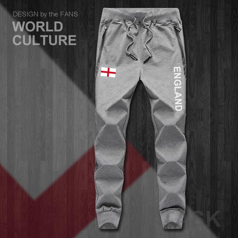Mens United Kingdom Great Britain Flag UK Jogger Shorts Workout Short