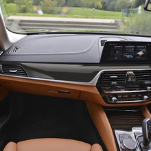 RHD 5D Carbon Fiber Vinyl Styling Interior Central Control Console Outlet Panel Film Sticker Decal For BMW G30 G31 Accessories