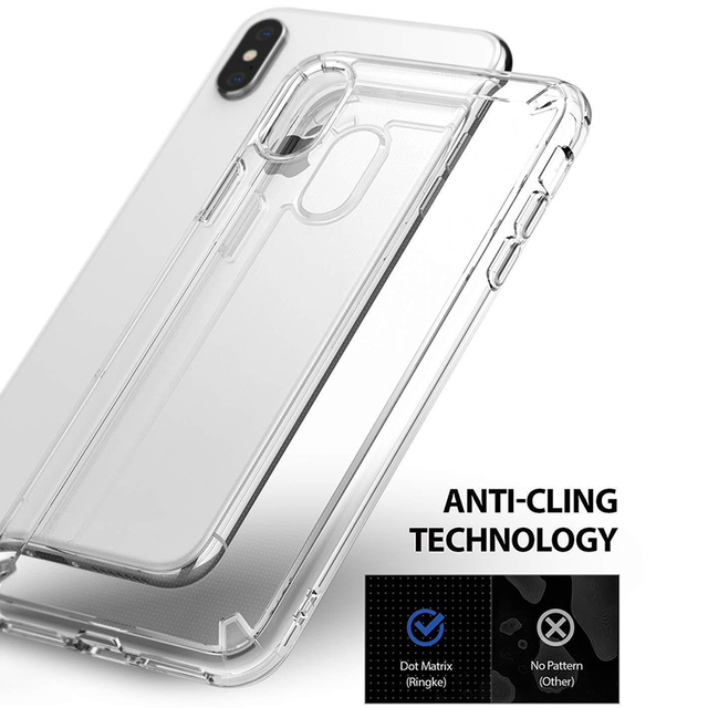 timeless design 6f13b c59f8 US $4.13 19% OFF|Clear Shockproof Case For iPhone XS XSMax XR Transparent  Protective Cover Case-in Fitted Cases from Cellphones & Telecommunications  ...