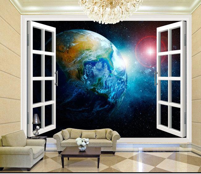 Aliexpresscom  Buy 3D stereo  window planet Earth