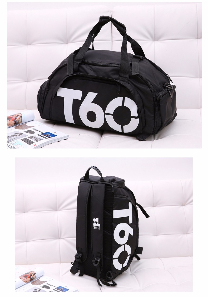 2017 Brand New Men Sport Gym Bag For Women Fitness Waterproof Outdoor Unisex With Separate Space For Shoes And Hide Backpack15
