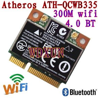 Reemplazo para portátil de 690019-001 689457-001 733268-001 Atheros AR9565 QCWB335 Mini PCIe WIFI WLAN inalámbrica Bluetooth tarjeta