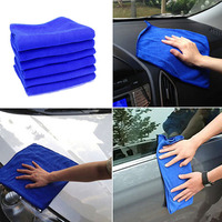 arrival cleaning 30x70CM Car Wash Microfiber Towel Car Cleaning Drying Cloth Absorbent Car Care Cloth Detailing Car Wash Towel New Arrival (2)