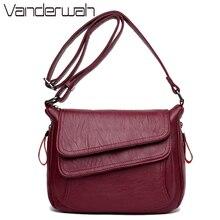 Зимний стиль, роскошные женские сумки из мягкой кожи, дизайнерские женские сумки-мессенджеры, сумки через плечо для женщин