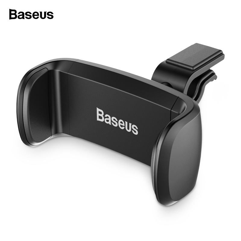 Baseus Car Phone Holder For IPhone X 8 Samsung Air Vent Mount Car Holder For Phone In Car Cellphone Mobile Phone Holder Stand