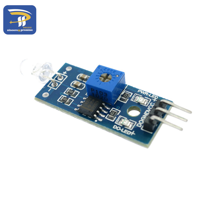 Photodiode module detects brightness light-sensitive light detector module smart car
