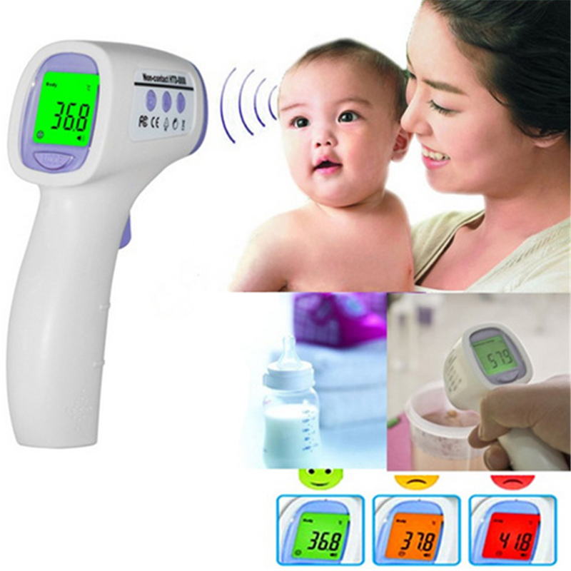 Professional font b Digital b font LCD Infrared font b Thermometer b font Gun Non contact