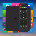 Android TV Box Amlogic S805 Cortex-A5 Mali-450 Android 4.4.2 Quad-Core 1G/8G MX Smart TV caja Miracast Airplay Smart TV Caja
