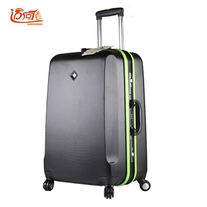 20 24 26 28 Zoll Candy Farbe Gepäck Trolley Splicing Farbe Aluminium Rahmen Billige Reisen Koffer Mädchen Koffer Reise Lugg Novel (In) Design;