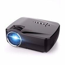 GP70UP Android 4.4 TV Box Mini LED Projecteur avec Google jouer Mise À Jour par GP70 Portable Projecteur 1G/8G Bluetooth WiFi TV Beamer