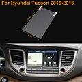 Стайлинга автомобилей 8 Дюймов GPS Навигации Экран Стали Защитная Пленка Для HYUNDAI Tucson Управления ЖК-Экран Автомобиля Стикер