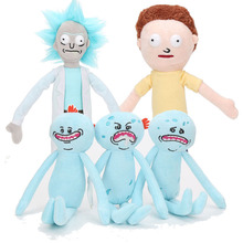 30cm Rick and Morty Plush Rick Morty Plush toys 2017 New Animation Rick and Morty Rick Sanchez Morty Doll Plush Home Decoration