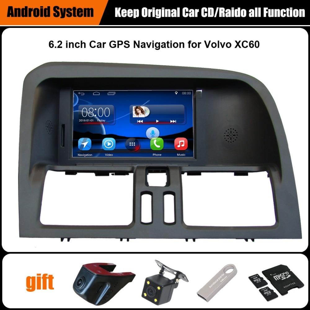 imágenes para Originales actualizado Android Car multimedia Player Juego para VOLVO XC60 GPS de Navegación GPS Bluetooth WiFi
