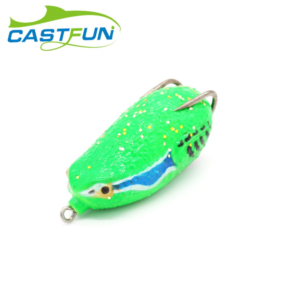 Topwater Soft Frog Lure For Snakehead Lure  Frog Bait Isca Artificial Fishing Tackle 1pc 26g 6.8cm
