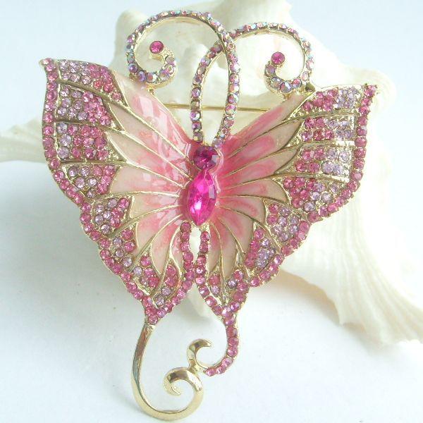 Pink Rhinestone Sash