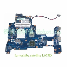 laptop motherboard for toshiba satellite L675D K000103980 NALAE LA-6053P AMD HD3200 DDR3
