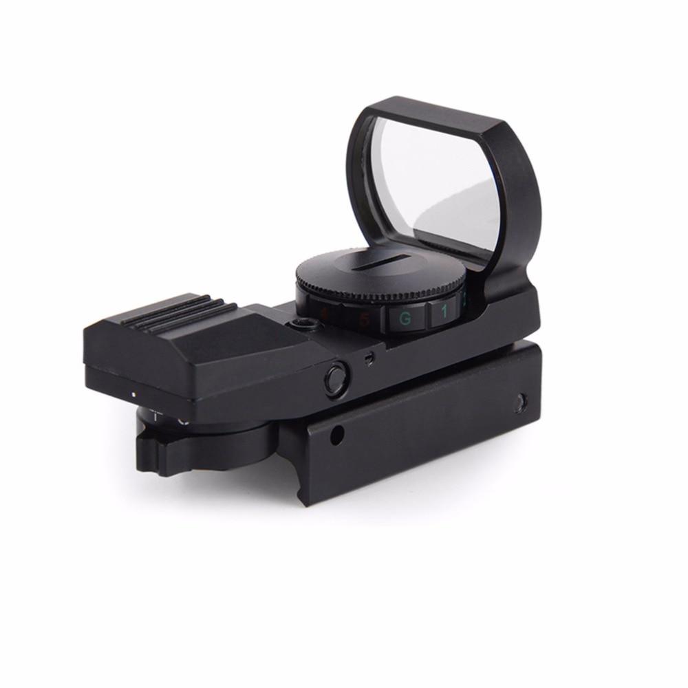 <font><b>11mm</b></font> / 20mm Rail Riflescope Hunting Airsoft Optics Scope Holographic Red Dot Sight Reflex 4 Reticle Tactical Gun Accessories
