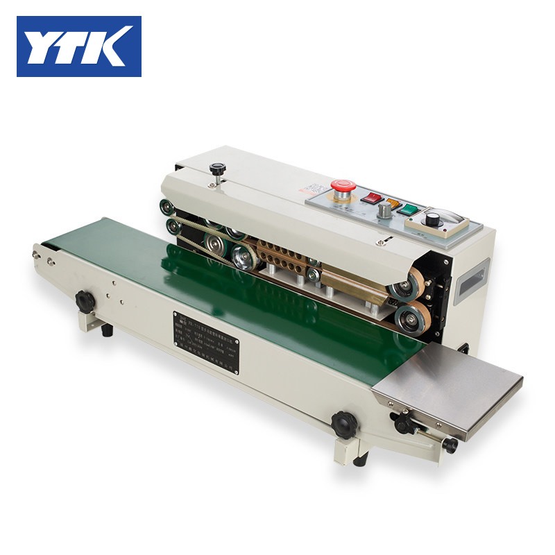 YTK FRD-1000-I Continuous Sealing Machine Automatic Sealing Machine With Color Coding And Counter