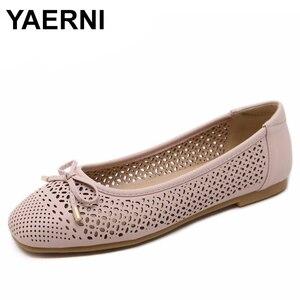 YAERNI New women casual flat s