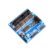 Free Ship 30pc With track  Sensor Shield V5.0 expansion board for arduino electronic building blocks robot accessories