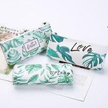 1Pcs/1Lot Kawaii Etui Turtle Leaf Gift Estuches School Potlood Doos Pencilcase Potlood Tas Schoolbenodigdheden briefpapier