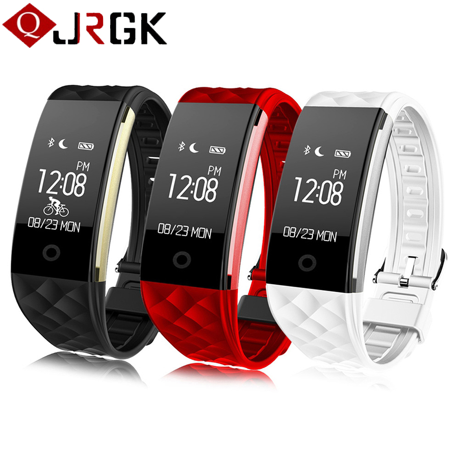 JRGK S2 Bluetooth Fitness Watch IP67 Waterproof Swimming Smart Band Heart Rate Monitor Pedometer Smart Bracelet For Android iOS