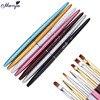 1Pcs 7 Heads Multifunction Nail Art Painting Brush Gel Polish Tips 3D DIY Image Drawing Coating Shaping Line Flower Manicure Pen