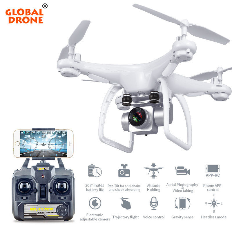 Dron Global Profissional Long Flying Time Altitude Hold RC Drones con cámara HD Quadcopter FPV VS SYMA X5SW H31