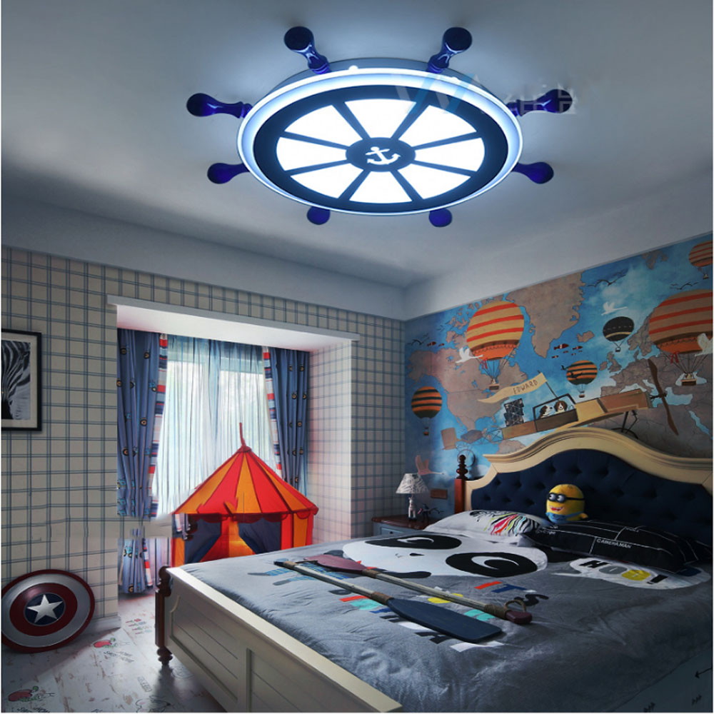 Popular boys bedroom lights buy cheap boys bedroom lights for Kids ceiling lights for bedroom