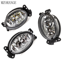 MZORANGE LED Halogen Bulb Fog Light Assembly for Mercedes Benz W204 C230 C300 C350 W211 E320 E350 W164 Front Fog Light Lamp 1pcs fog light lamp right fog lamp for mercedes benz w211 e class 2003 2006