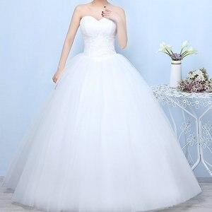 Image 2 - Gelinlik 2019 Robe De Mariage prenses Bling Bling lüks dantel beyaz topu cüppe gelinlikler Vestido De Noiva